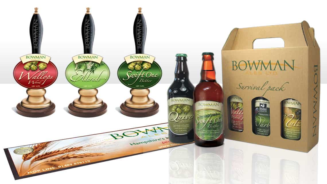 INCA_POS & Packaging_Bowman Ales